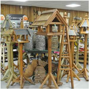 We have a range of locally produced bird tables
