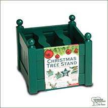 Buy Painted Wooden Christmas Tree Stands online at Jacksons Nurseries