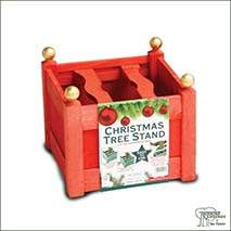 Buy Stained Wooden Christmas Tree Stands online at Jacksons Nurseries