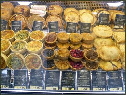 Homemade Pies and Pastries at Jacksons Nurseries Farm Shop