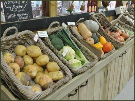 Fresh Ingredients available for Christmas at Jacksons Nurseries Farm Shop