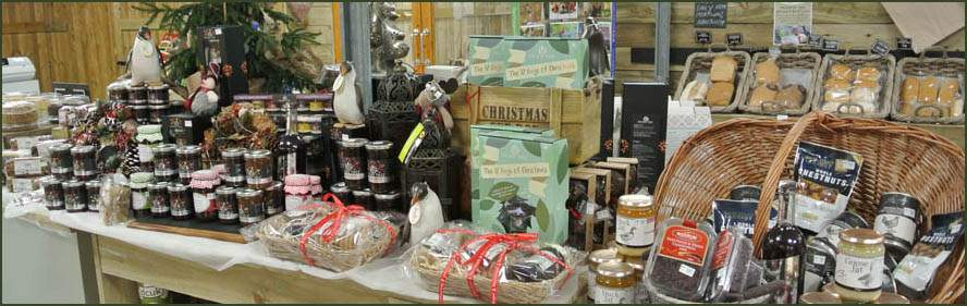 We have a huge selection of Christmas gifts, treats and wares at Jacksons Nurseries Farm Shop