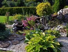 Creating rockery garden