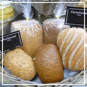 A Range of fresh breads