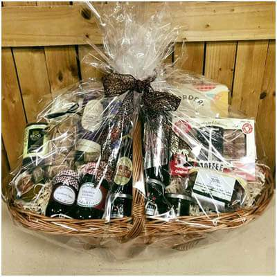 Hampers can be made up as you shop or to order