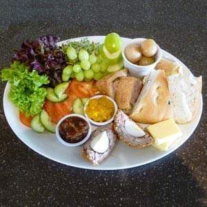 Our nursery mans platter is great in summer