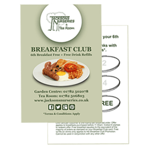 Join our Tea Room breakfast club