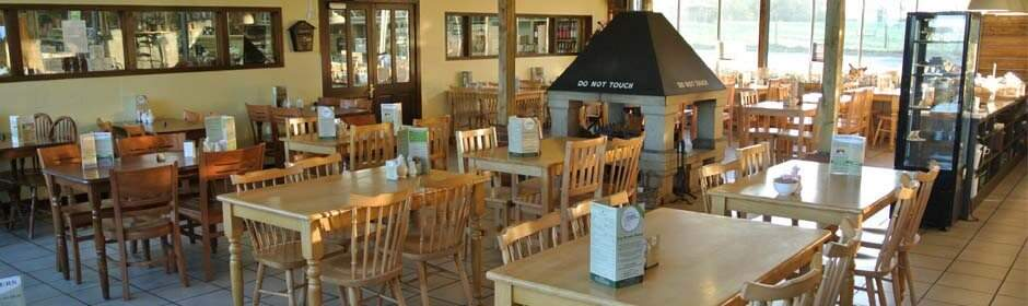 The Tea Room at Jacksons Nurseries in Bagnall, Staffordshire