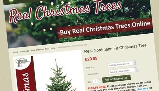 Nordmann Online order page