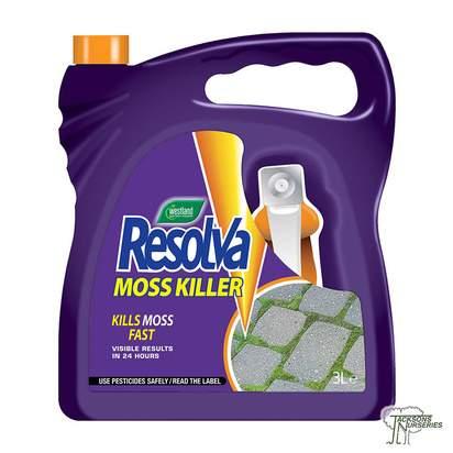 Buy Westland Resolva Moss Killer online from Jackson's Nurseries.